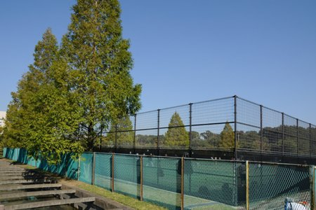 柏の葉庭球場