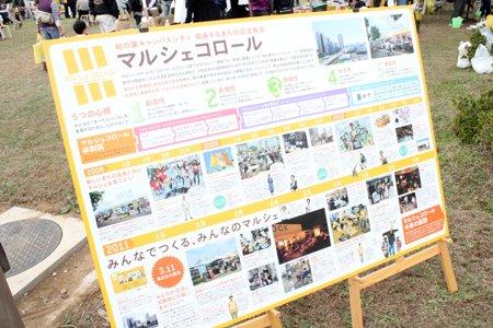 マルシェコロール×千葉大キャンパスセンター祭2011