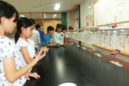 柏の葉小学校 おもしろ実験教室