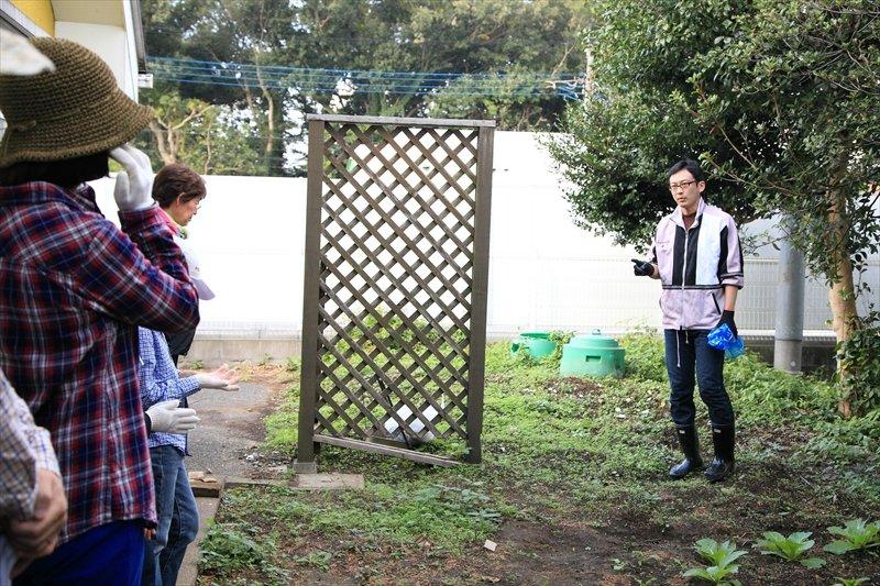 「理科の体験農園」の実施場所