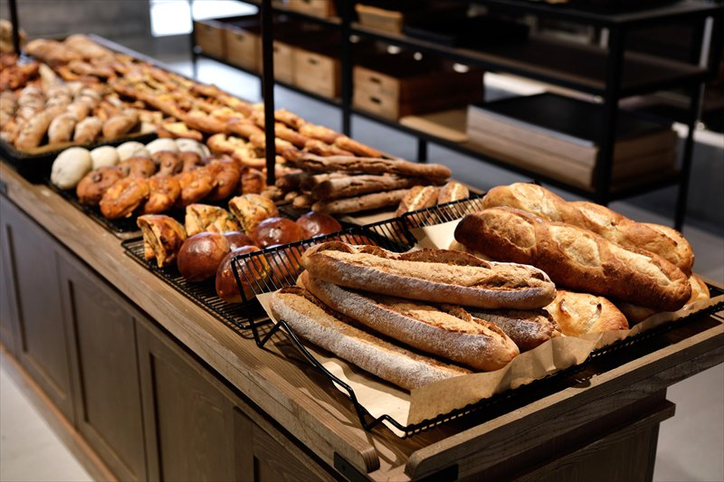 THE GROUNDS BAKERのおいしそうなパン