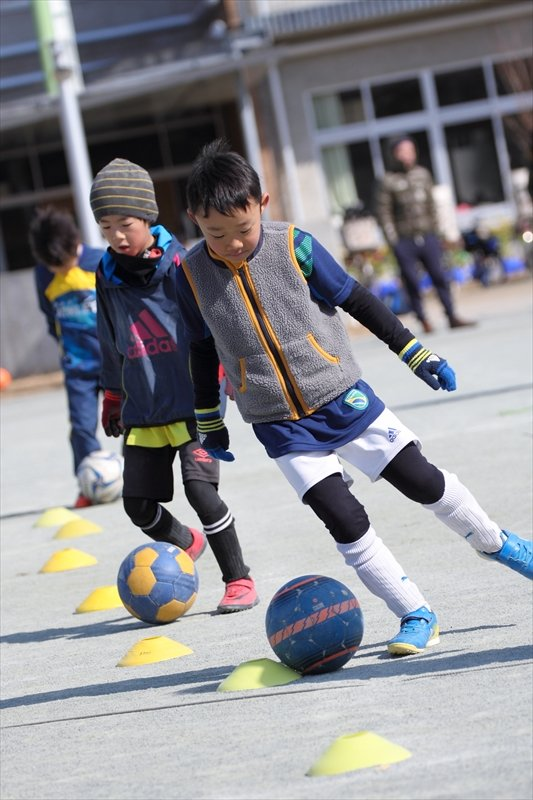 サッカーを楽しんでもらうことが第一の目的