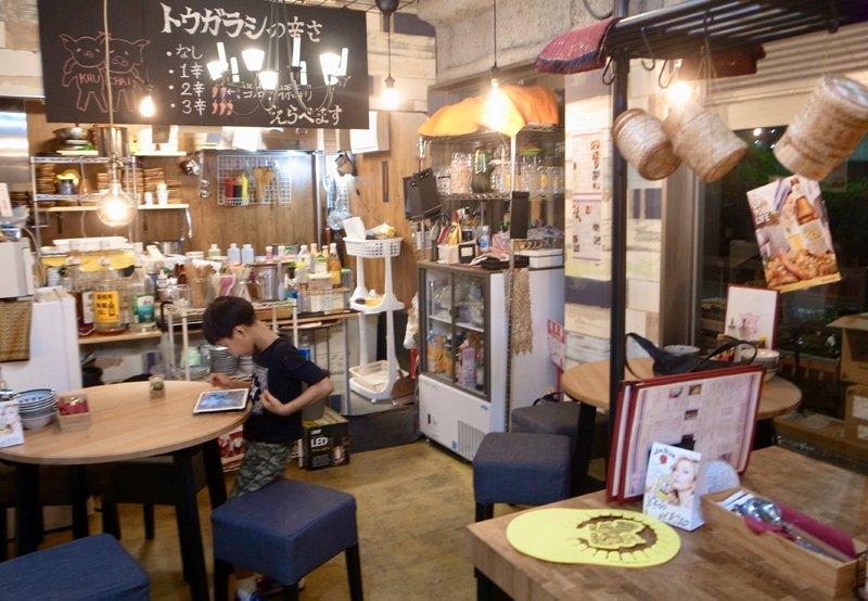 タイ料理「クィーチャイ」店内の様子