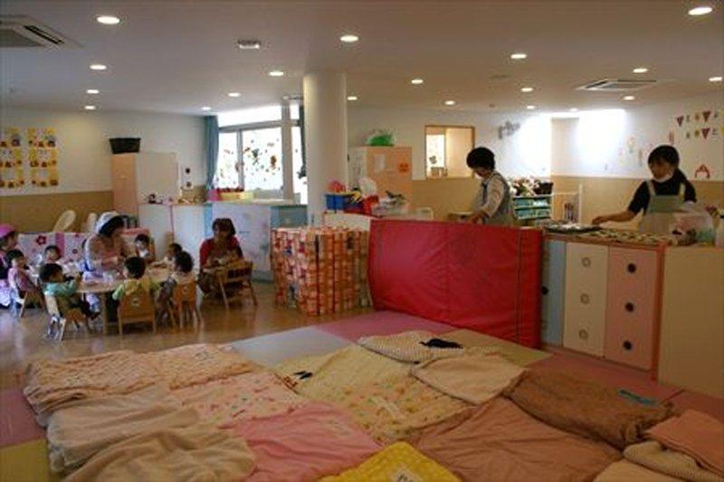 0歳児保育室の様子