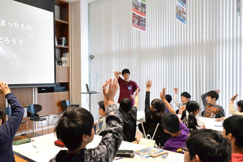 科学イベントと言っても、子どもたちも楽しく参加できる多くの工夫が考えられている