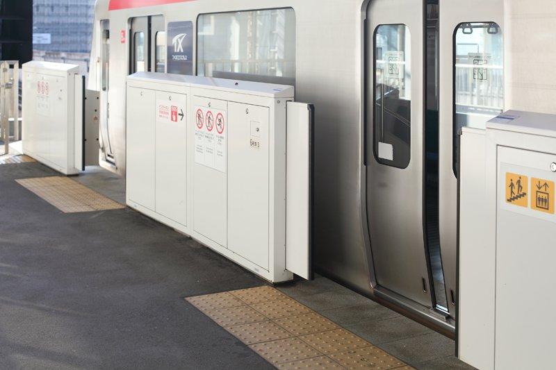 全駅設置のホームドア