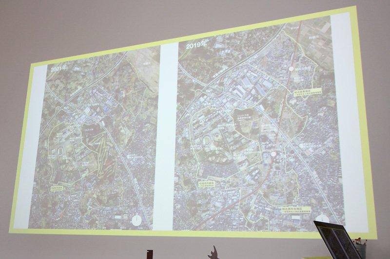 柏の葉キャンパスエリアの開発の変遷