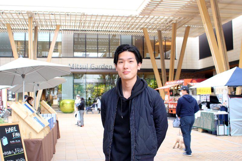 「FULL-SATOマーケット」を主催する株式会社GENOWORTHの吉中佑馬さん