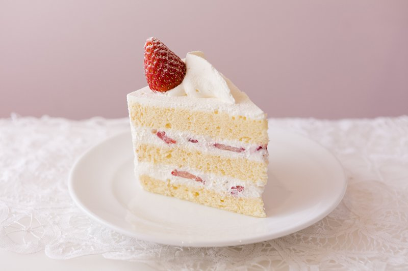 ほぼ毎日完売するという人気ぶりのショートケーキ